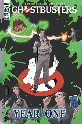 GHOSTBUSTERS YEAR ONE #3 (OF 4) CVR A SHOENING (C: 1-0-0)