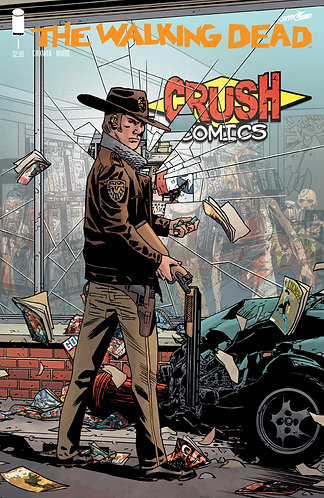 Walking Dead #1 - Crush Comics Anniversary Variant