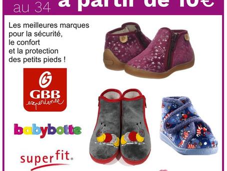 Pantoufles et chaussons