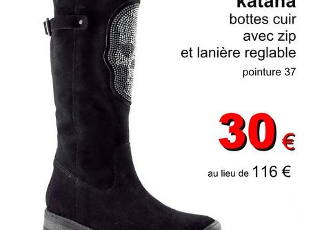 Bottes & boots dégriffées à Grenoble