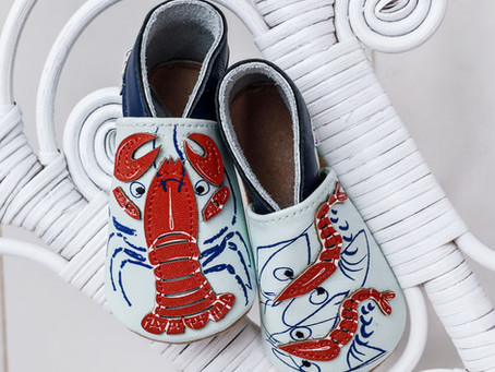 Chaussons souples cuir