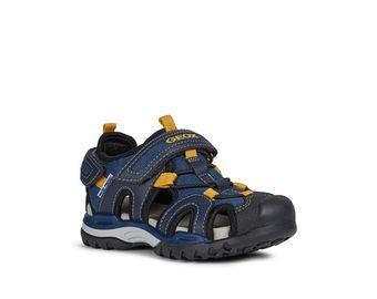 Sandales et baskets Geox pour garçon respirantes d'inspiration outdoor.