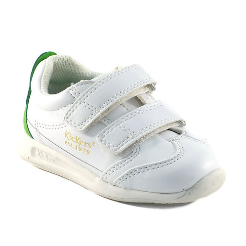 Kickers basket bb blanc