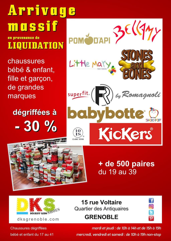 Chaussures Grenoble À Bébé Enfants DégriffésDks Prix cJ5uTK3Fl1