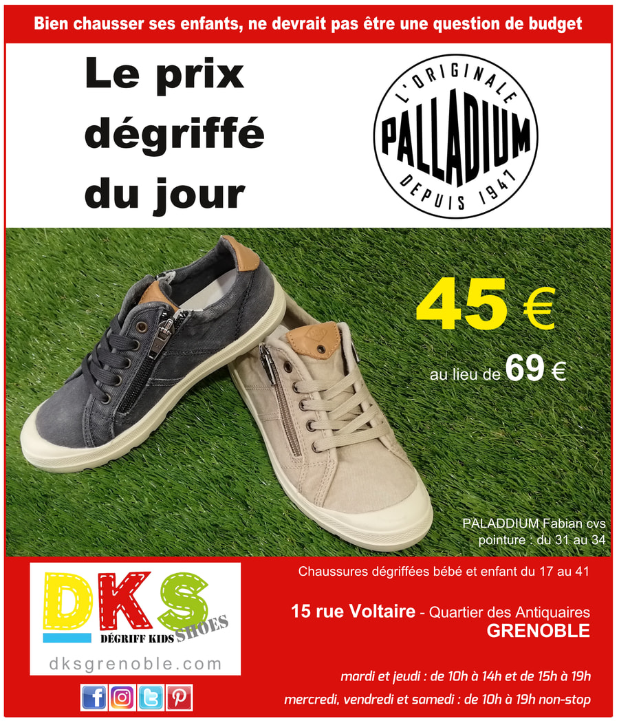 Toile Dégriffées Grenoble Baskets Palladium Garçon BtQCsdrohx