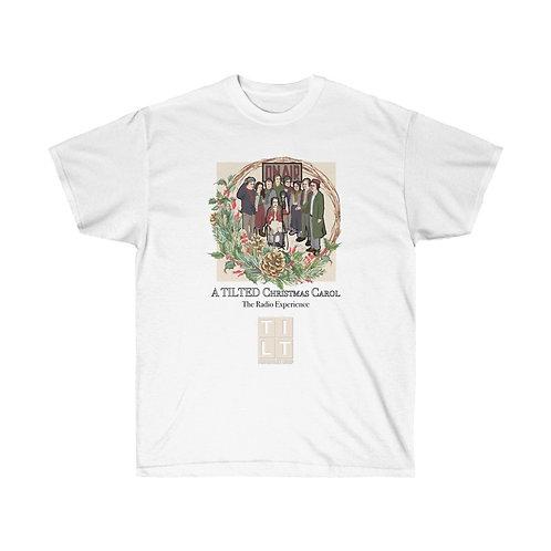 A TILTed Christmas Carol T-Shirt with Cast List on back