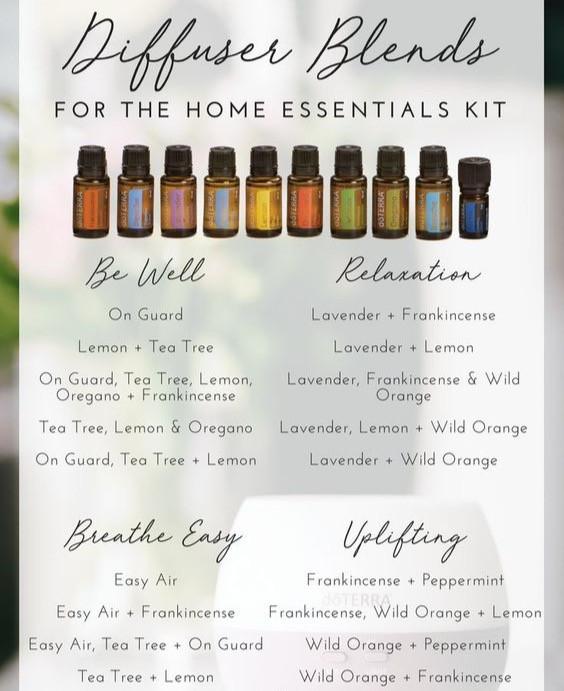 Aromaterapik yağların kullanımına dair birkaç örnek