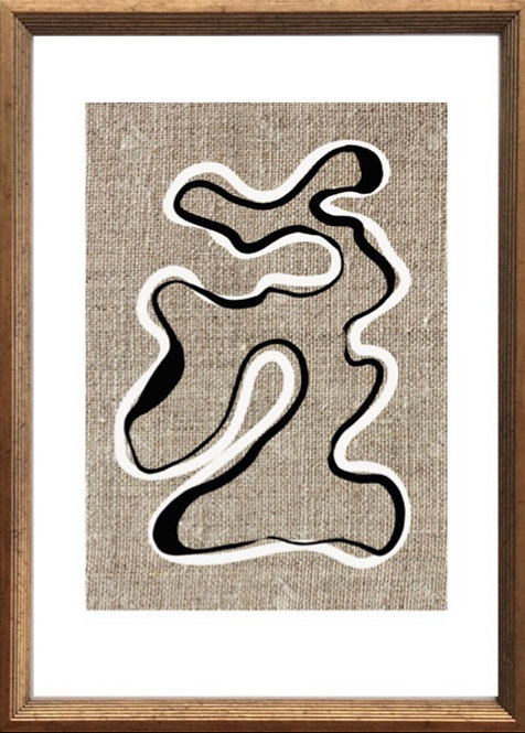 Abstract linen
