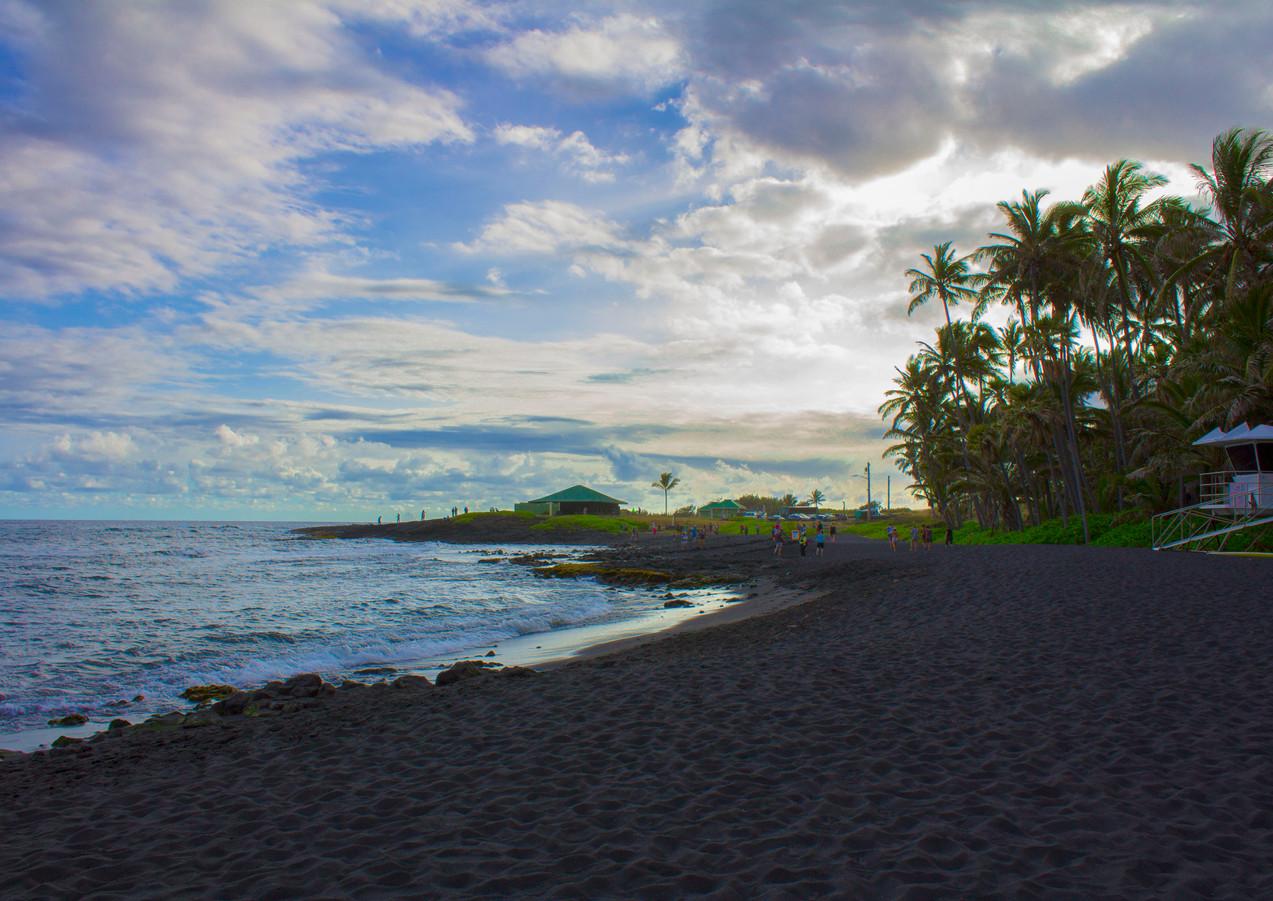 Hawaii Black Sand