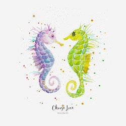 Seahorses // Choose love