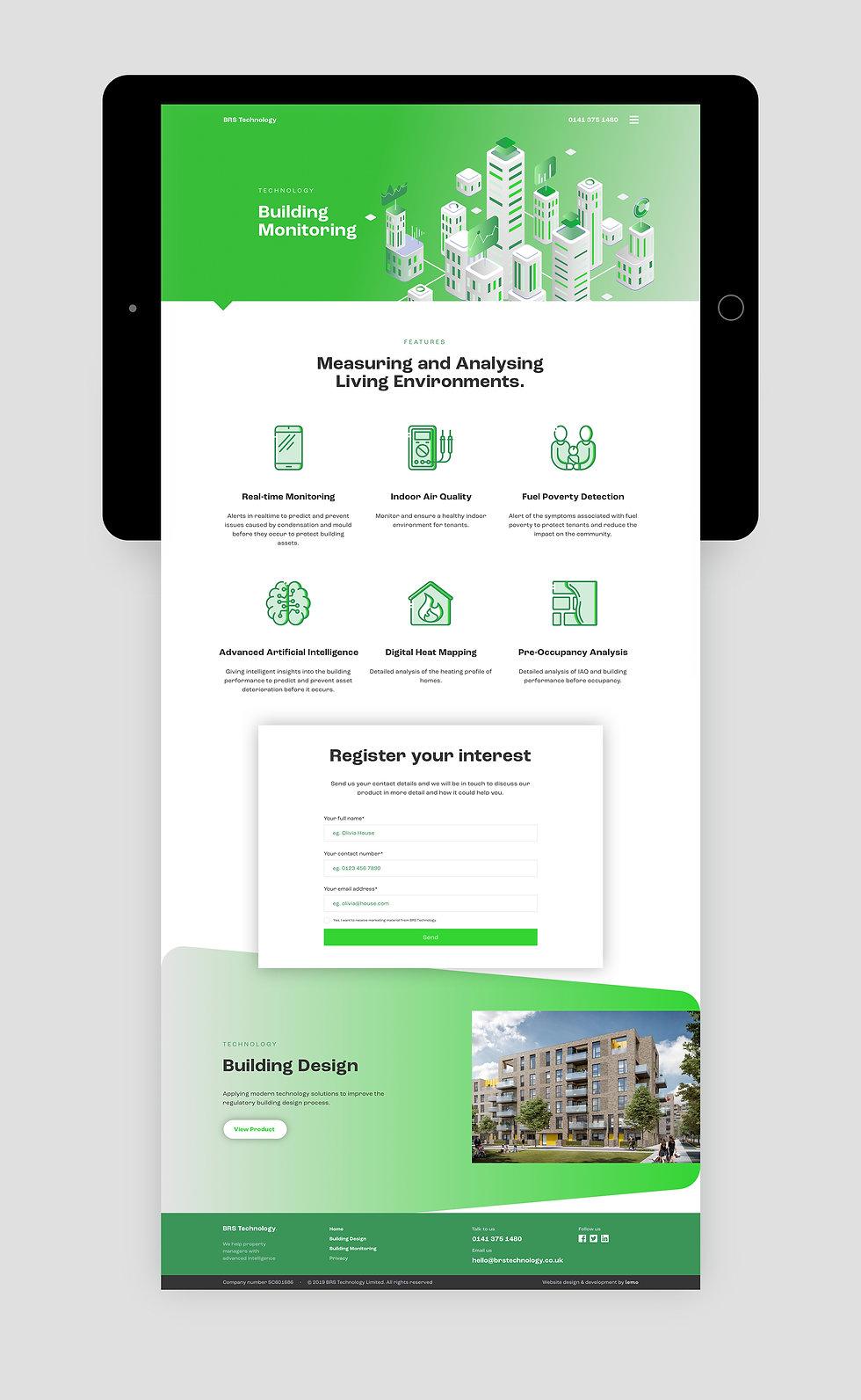 brs_technology-website_on_tablet_present