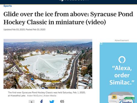 As Seen On: Syracuse.com: Pond Hockey Classic