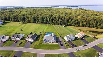 Bridgeport Home Drone Photograph (Aiden Media)