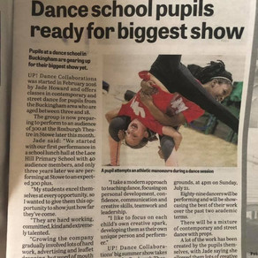We're in the paper!