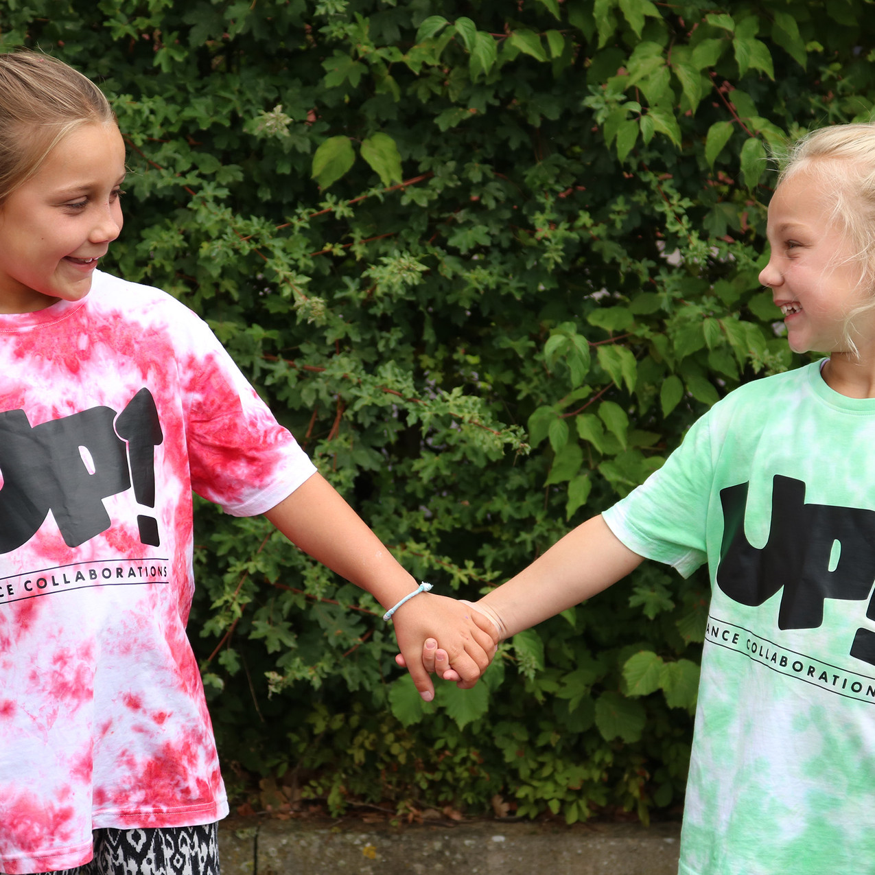 UP! Dance Tie Dye Clothing