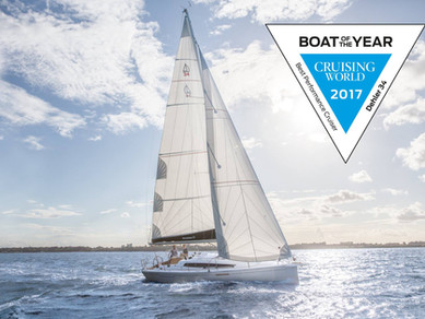 Dehler 34 - 2017 Winner of Best Performance Cruiser