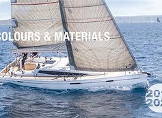 Dehler Colours & Materials 2019/2020