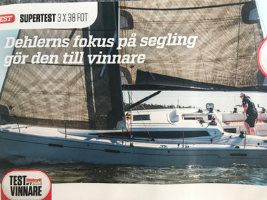 Dehler 38 vinner Båtnytts test!