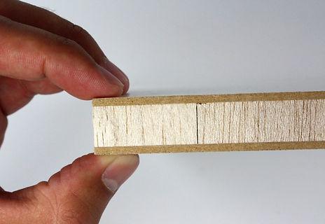 Sandwich design i skrovet