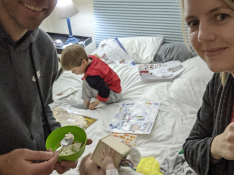 Moving Part 4: Jet Lag With Two Kids + Moving Emotions