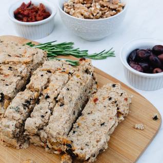 The Joyful Vegan's Mediterranean Olive Bread