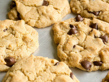 Who-knew-they-were-vegan chocolate chip cookies