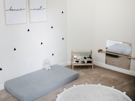 Montessori Inspired France-Themed Gender Neutral Nursery