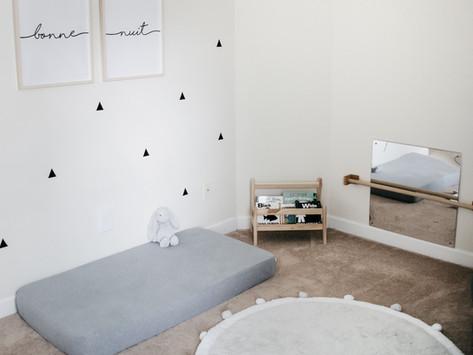Montessori Inspired France-Themed Gender Neutral Nursery