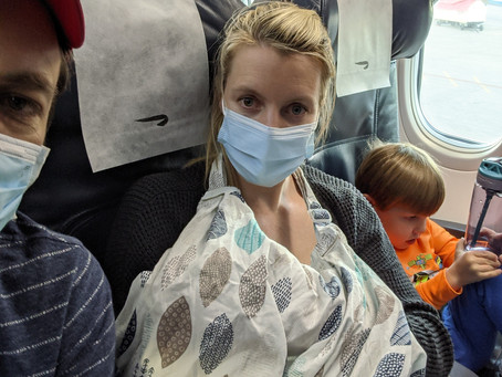Moving Overseas Part 3: Flying from America to South Africa with a 3 year old and a baby (33 hours)