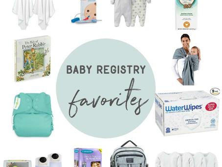 Kendra's Baby Registry Favorites