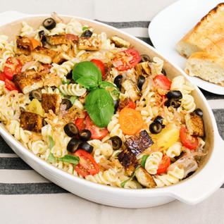 Vegan Fusilli Pasta Salad
