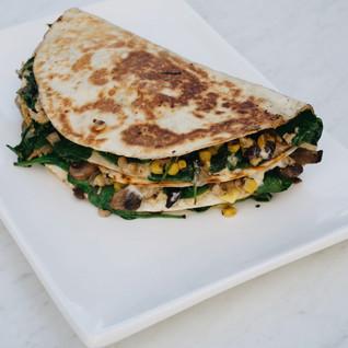 Easy dinner recipes: Vegan Vegetable Quesadillas