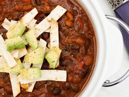 15-Minute Vegan Chili