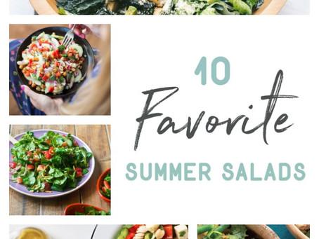 10 Favorite Summer Salads