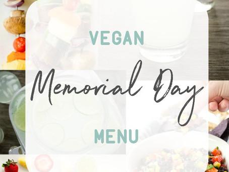 Vegan Memorial Day Menu