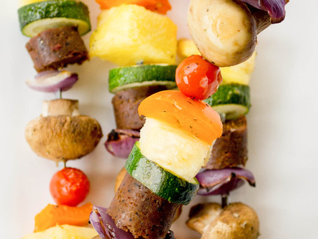 The best vegetable kebabs