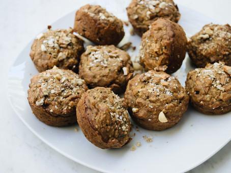 Morning Glory Muffins: Healthy + Vegan