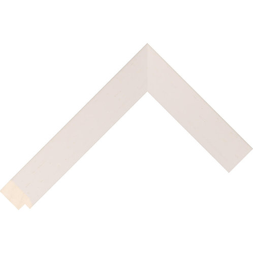 Ivory Bevel Ayous Picture Frame Moulding
