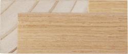 L Shape Light Oak Veneer 23 & 39mm Rebate