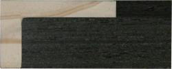 L Shape Black Veneer 23 & 39mm Rebate