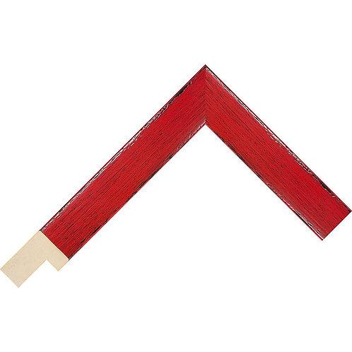 LJS Komodo II Moulding Red 26mm