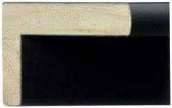 48mm Deep Black Moulding For Canvas