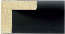 30mm Deep Black Moulding For Canvas