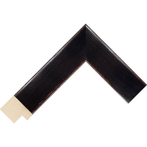 LJS Komodo Moulding Black 39mm