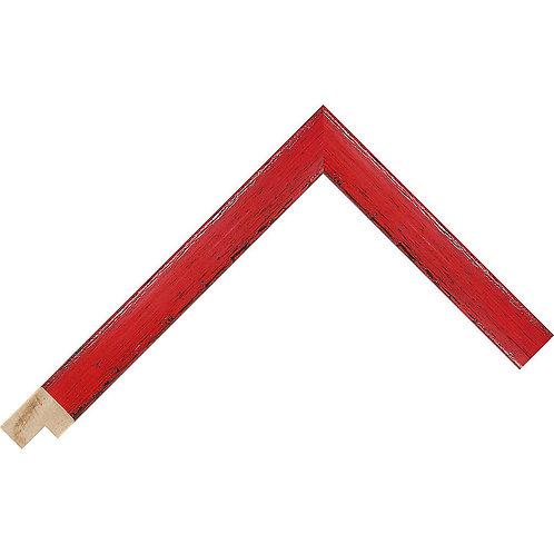 LJS Komodo II Moulding Red 19mm