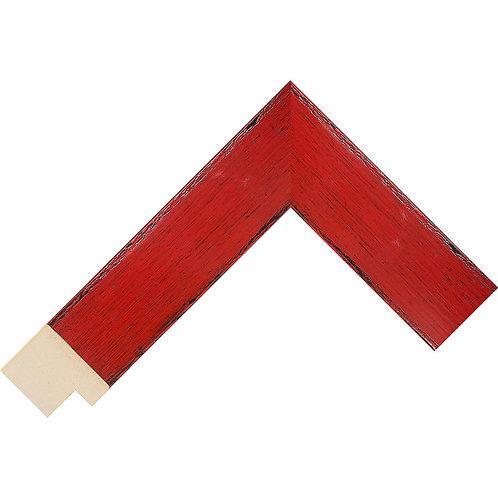 LJS Komodo Moulding Red 39mm