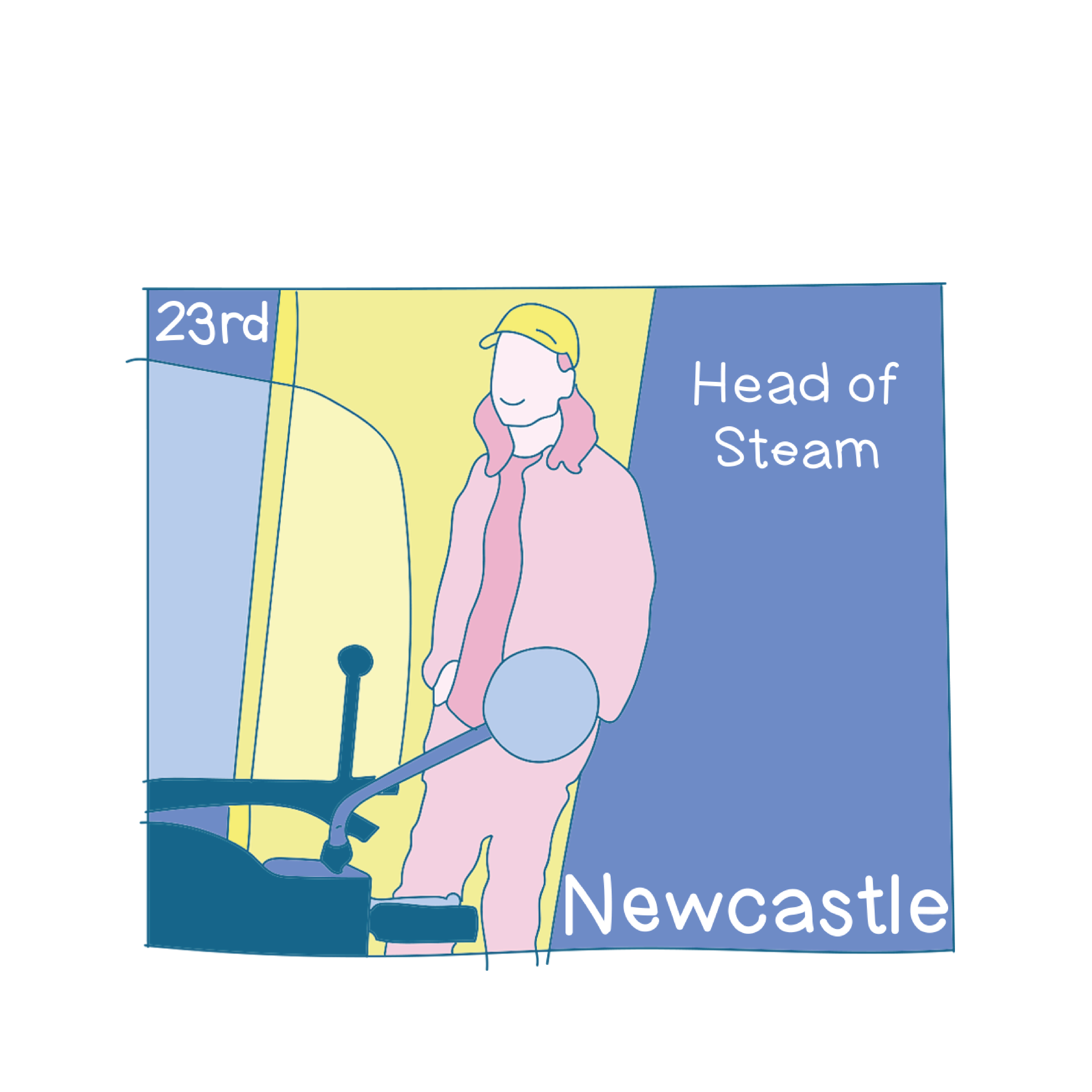 23rd - Newcastle
