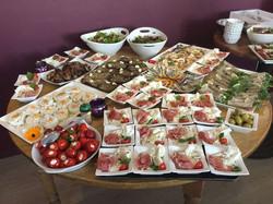 Koude gerechten tijdens Serrata