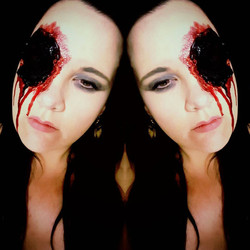 Hollow Eye Special Effects Makeup