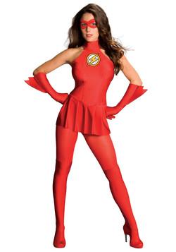 Sexy Flash Female Costume